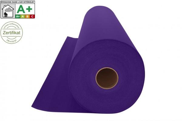 Messeteppichboden Rips B1 -Nr. 21 violett