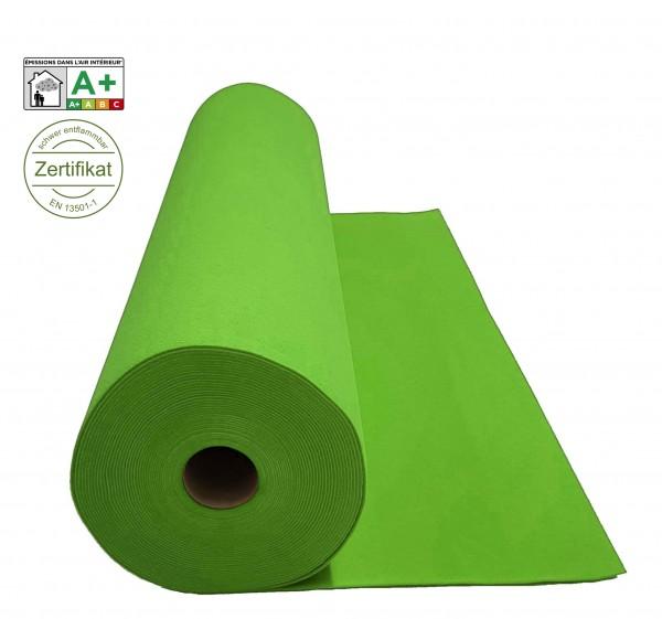 Velours Messeteppich B1 Expoluxe hellgrün spring green