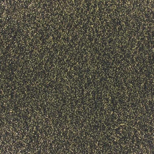 Glitzer Effekt Teppichboden - Expoglitter schwarz gold