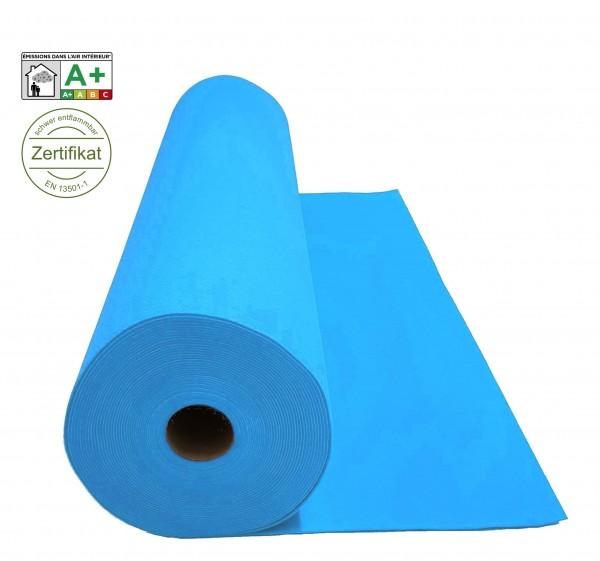 Velours Messeteppich B1 Expoluxe hellblau azure