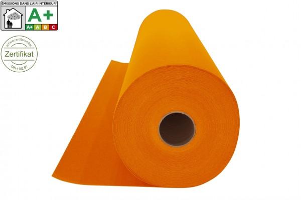 Messeteppichboden Rips B1 -Nr. 18 mandarine
