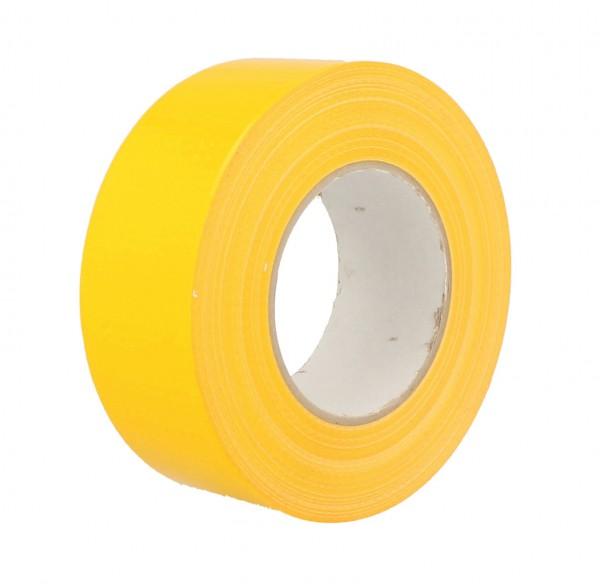 Gewebeband Gaffa Ductape gelb