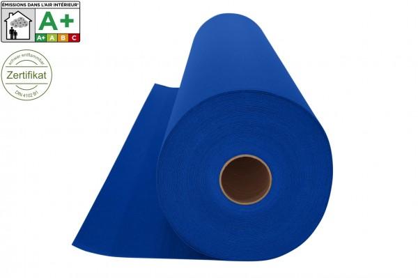 Messeteppichboden Rips B1 -Nr. 10 royalblau