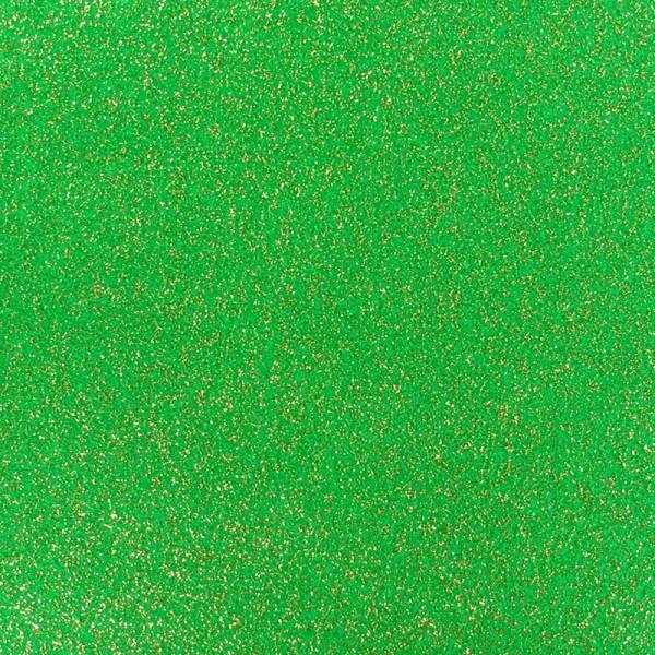 Glitzer Effekt Teppichboden - Expoglitter grün gold