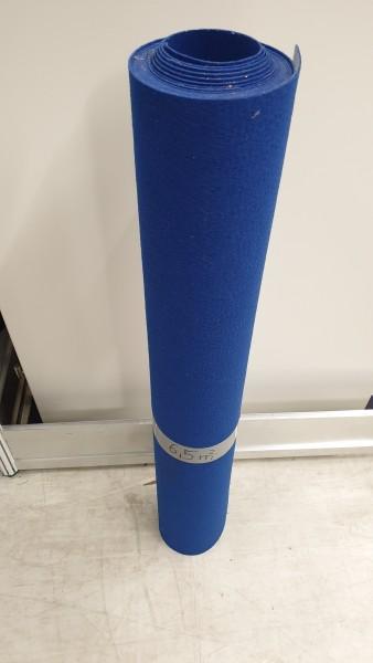 Abschnitt Expostyle Flachfilz B1 mit Folie blau ca. 6,5m²