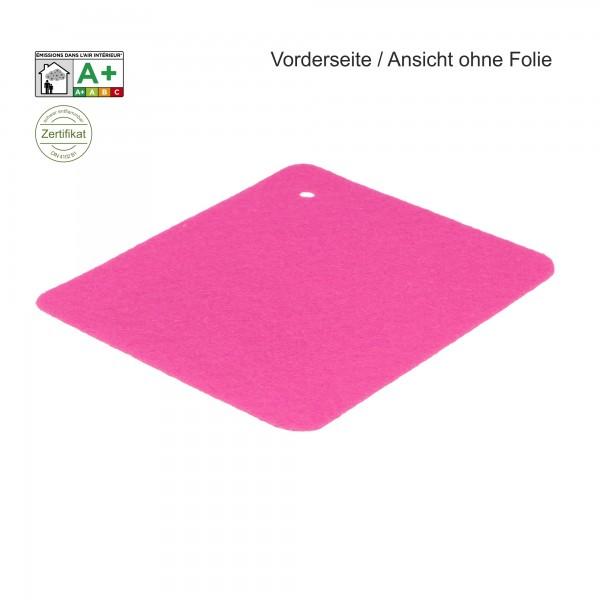 B1 Expostyle Flachfilz mit Folie pink