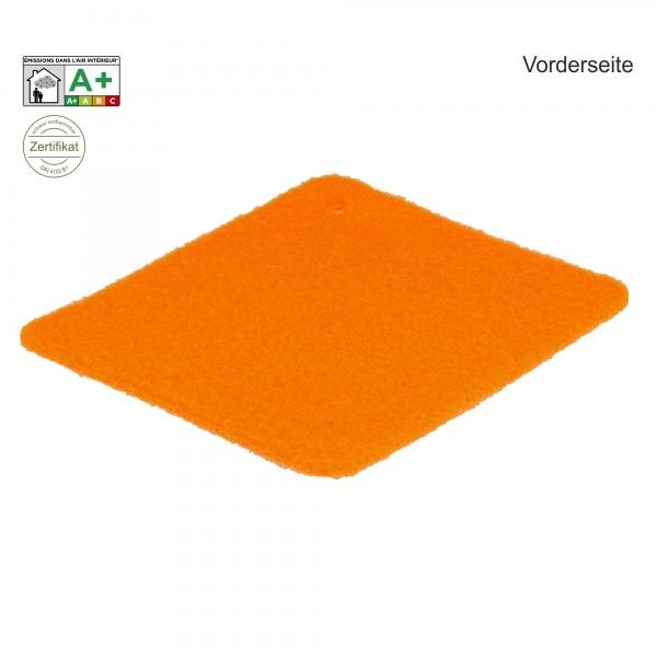 Velours Messeteppich B1 Exposhow orange clementine