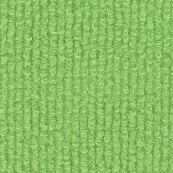 Restrolle ca. 58m² - Messeteppichboden Rips B1 - hellgrün pistazie