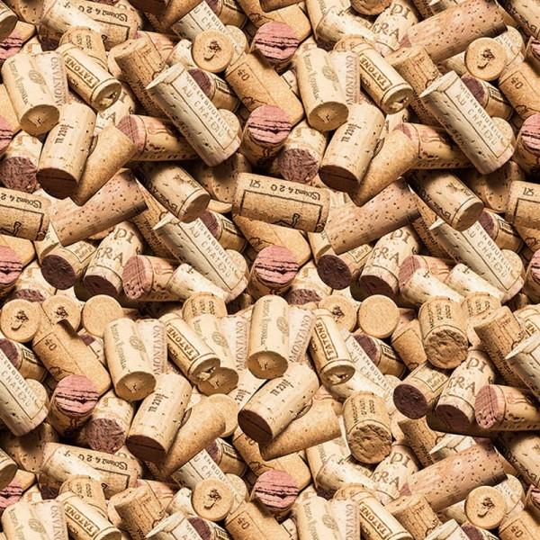 Bedruckter Teppich B1 Expodecor Wein Korken