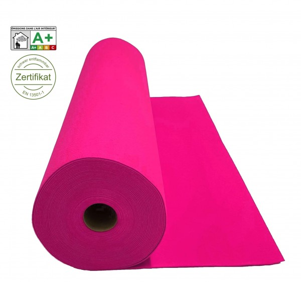 Velours Messeteppich B1 Expoluxe pink
