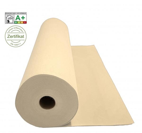 Velours Messeteppich B1 beige ivory *mit Folie*