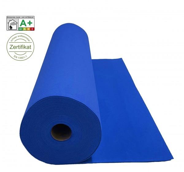 Velours Messeteppich B1 Expoluxe blau