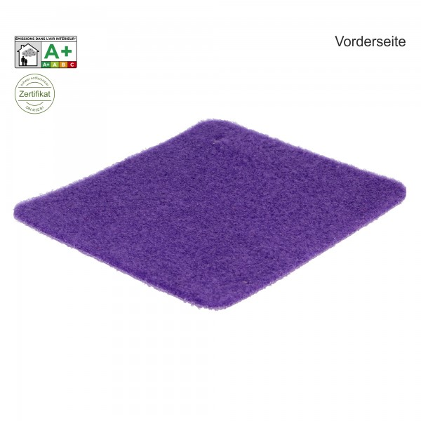 Velours Messeteppich B1 Exposhow violet lila