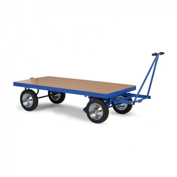 Transportwagen für Teppichfliesen 2x1m - Plattformwagen