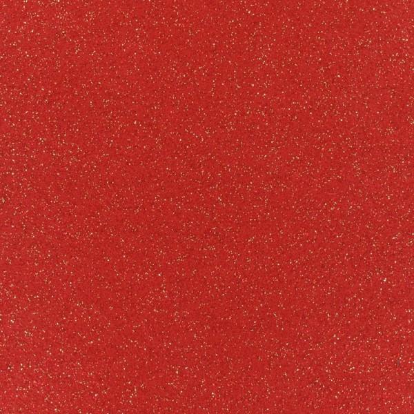 Glitzer Effekt Teppichboden - Expoglitter rot gold