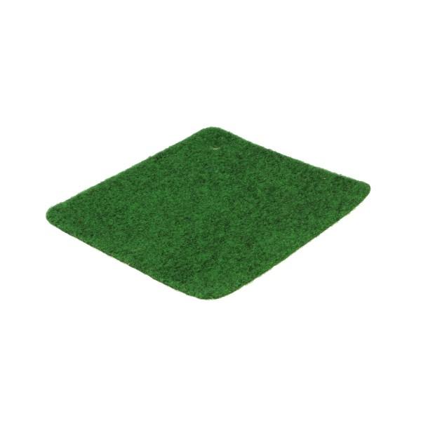 Rasenteppich B1 grün meliert Vorderseite