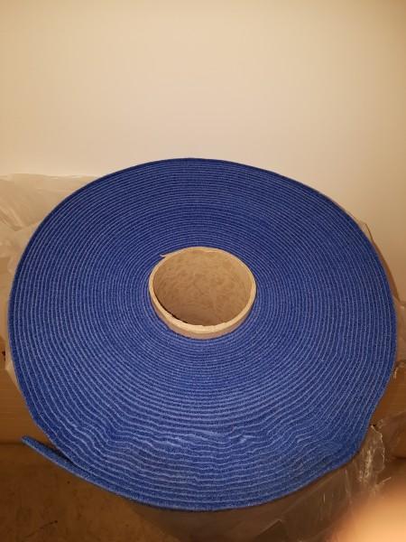 B Ware - 60m² Exposho Velour B1 - blau / NR 50168