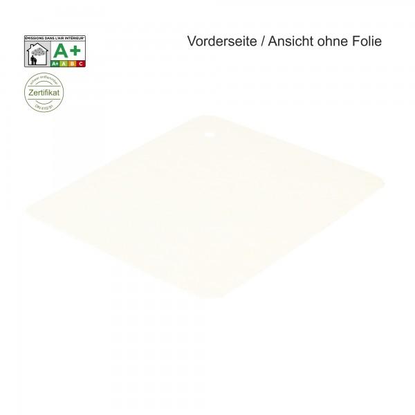 B1 Expostyle Flachfilz mit Folie weiß