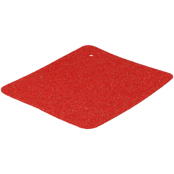 Glitzerteppichboden rot mit Glitzern