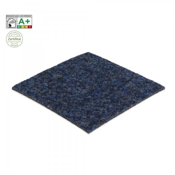 Teppichfliesen Flachfilz blau B1 - Bfl-S1