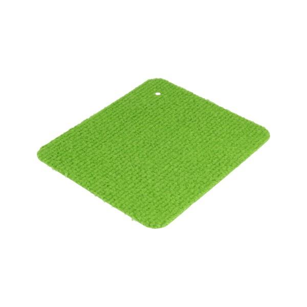 Messeteppichboden Rips B1 -Nr. 26 hellgrün