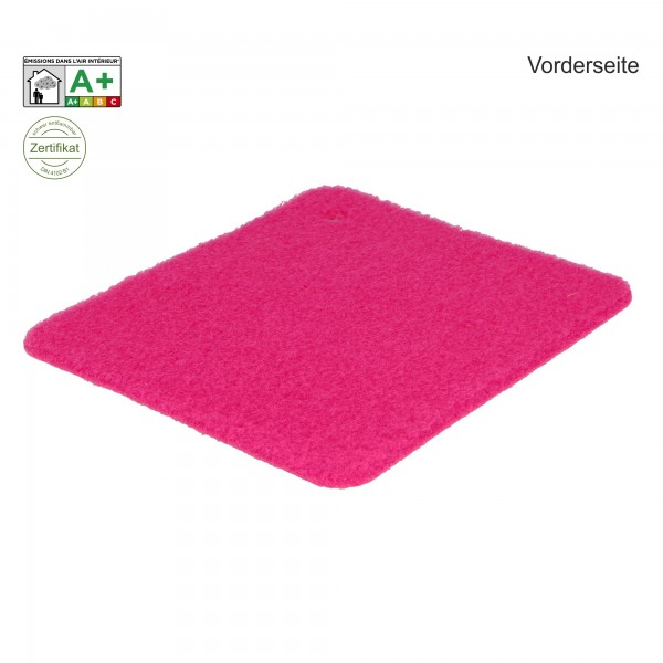 Velours Messeteppich B1 Exposhow pink