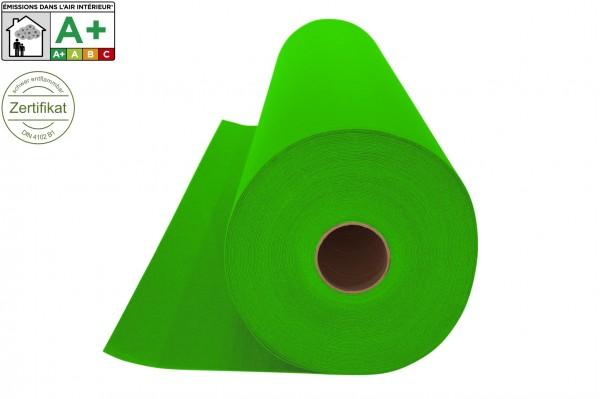 Messeteppichboden Rips B1 -Nr. 05 apfelgrün