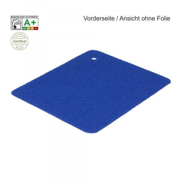 B1 Expostyle Flachfilz mit Folie blau