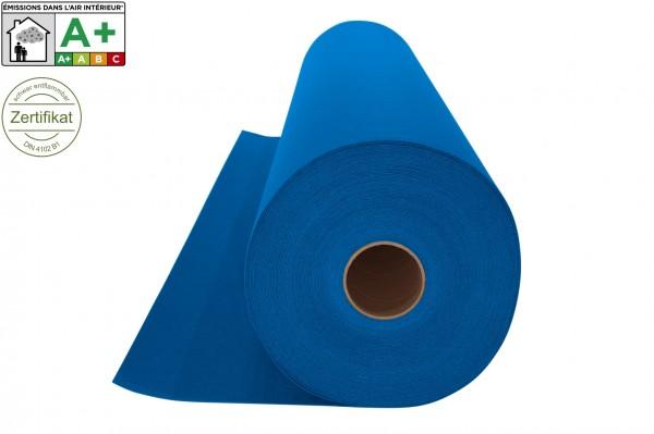 Messeteppichboden Rips B1 -Nr. 08 himmelblau