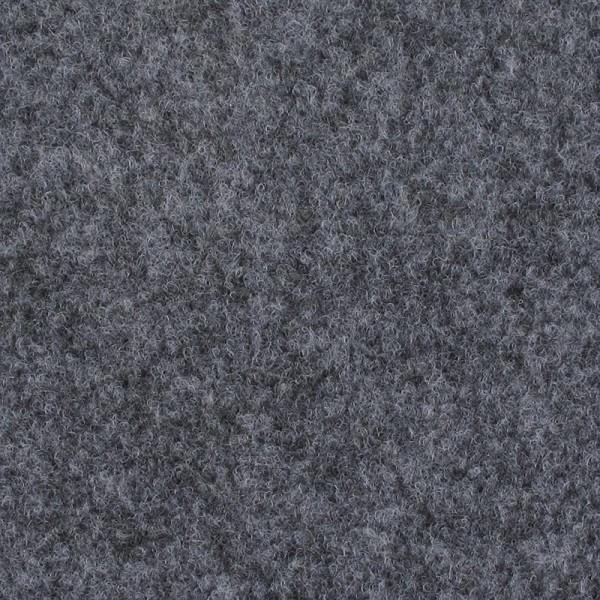 Velours Messeteppich B1 Expoluxe grau meliert