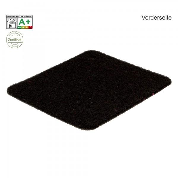 Velours Messeteppich B1 Exposhow schwarz
