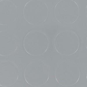 PVC B1 Kreisstruktur Punkte grau