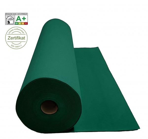 Velours Messeteppich B1 Expoluxe dunkelgrün