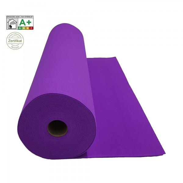 Velours Messeteppich B1 violet lila *mit Folie*
