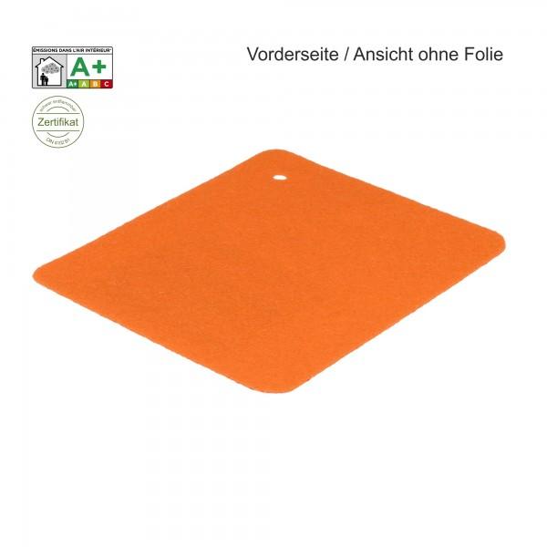 B1 Expostyle Flachfilz mit Folie orange