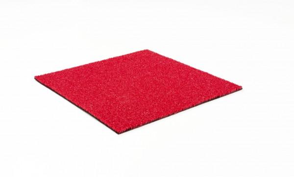 Kunstrasen rot B1 Rollenware